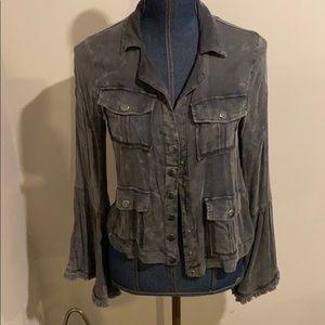 Chaser heirloom woven utility jacket